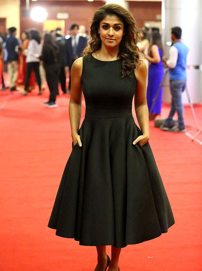 63rd Filmfare Awards South PIX Amy Jackson Tamannaah Bhatia at 63rd South Filmfare awards