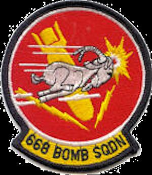668th Bomb Squadron