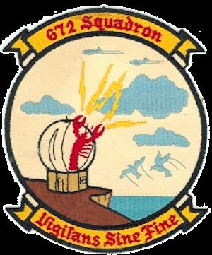 672d Aircraft Control and Warning Squadron