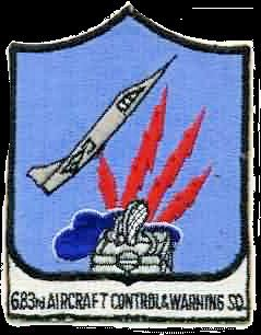 683d Aircraft Control and Warning Squadron