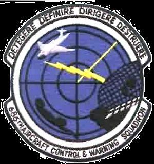 686th Aircraft Control and Warning Squadron