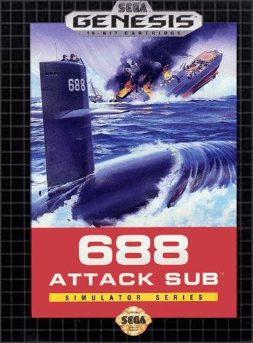688 Attack Sub Play 688 Attack Sub Sega Genesis online Play retro games online at