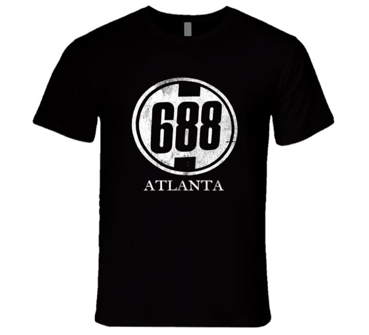 688 Club 688 Club Atlanta Fun Clueless Popular Movie T Shirt