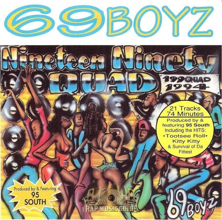 69 Boyz 69 Boyz 199Quad 1st Press CD Rap Music Guide