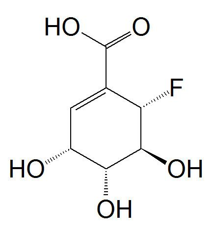 (6S)-6-Fluoroshikimic acid