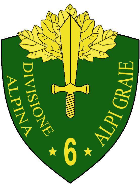 6th Alpine Division Alpi Graie