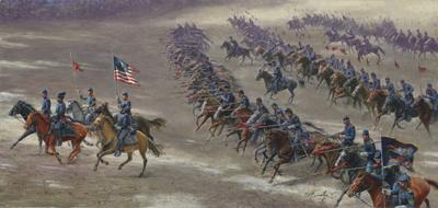 6th Pennsylvania Cavalry wwwnassaumuseumcomwebimagesRushslancerssmlgpng