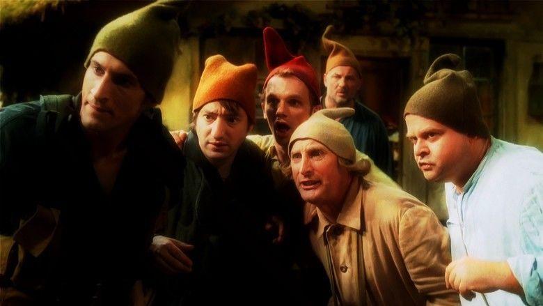 7 Dwarves Men Alone in the Wood movie scenes