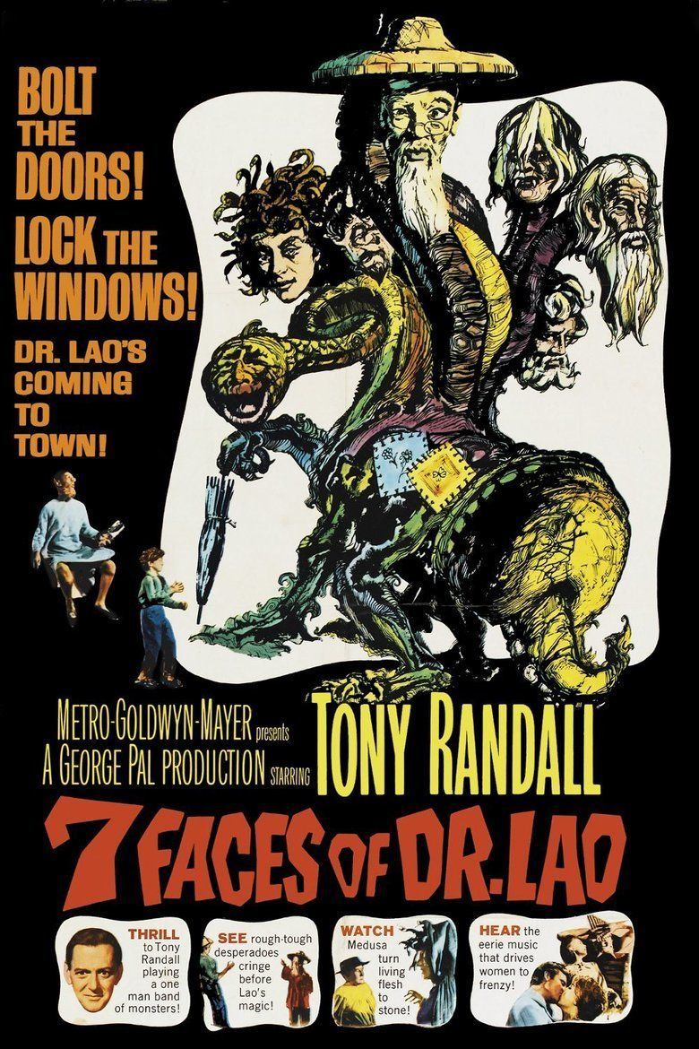 7 Faces of Dr Lao movie poster