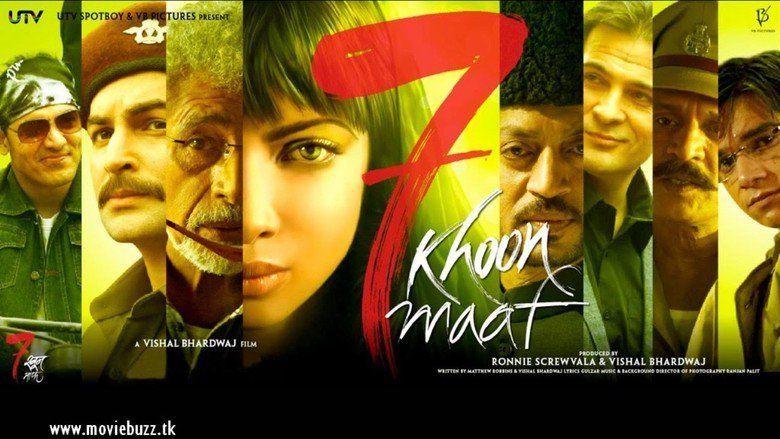 7 Khoon Maaf movie scenes