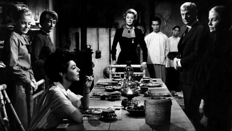7 Women movie scenes