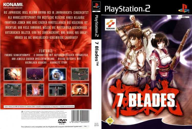7 Blades COVERSBOXSK 7 blades high quality DVD Blueray Movie