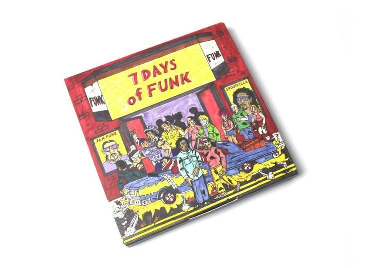 7 Days of Funk (group) 7 Days Of Funk DamFunk amp Snoopzilla 7 Days Of Funk 45 Box Set 8