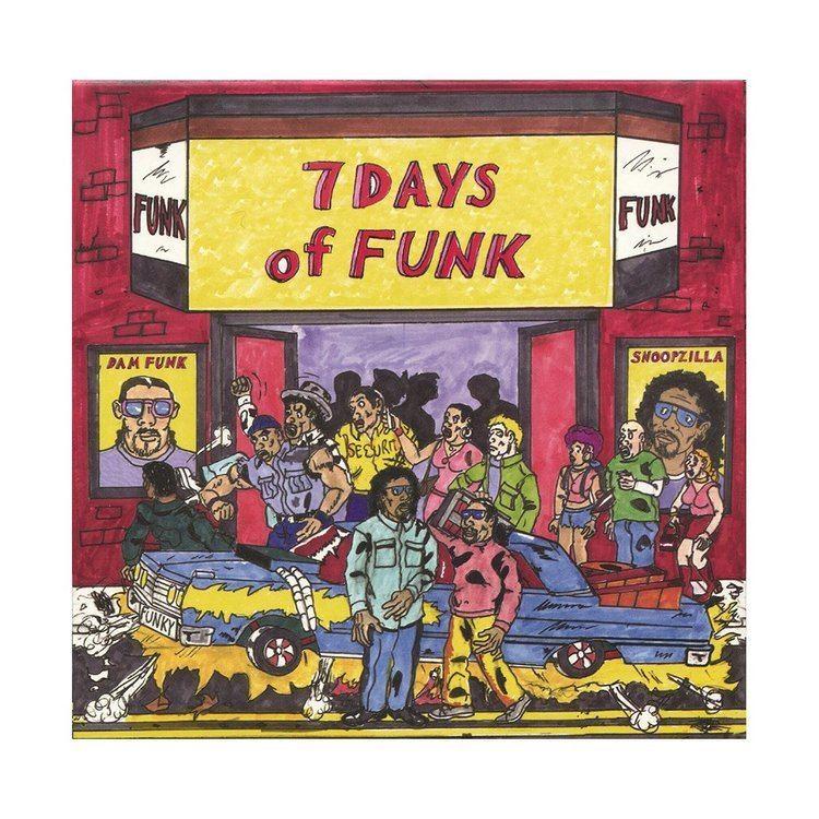7 Days of Funk (group) 7 Days Of Funk 7 Days Of Funk 45 Box Set Vinyl Single buy