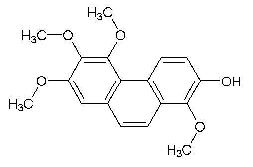 7-Hydroxy-2,3,4,8-tetramethoxyphenanthrene