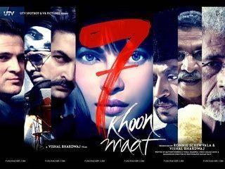 7 Khoon Maaf 7 Khoon Maaf 2011Part12ollywood Hot Romantic Moviesby