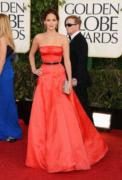 70th Golden Globe Awards Jennifer Lawrence Rocks Red at the 2013 Golden Globes Pictures