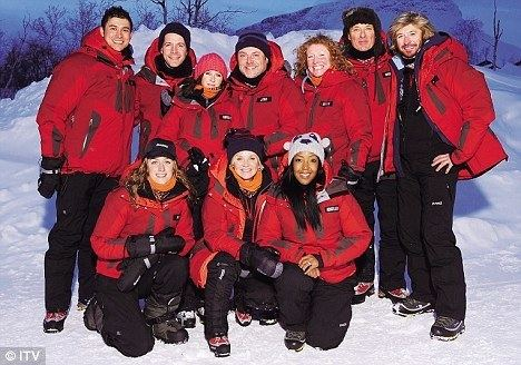 71 Degrees North ITV39s 71 Degrees North Celebrities on thin ice If only Daily
