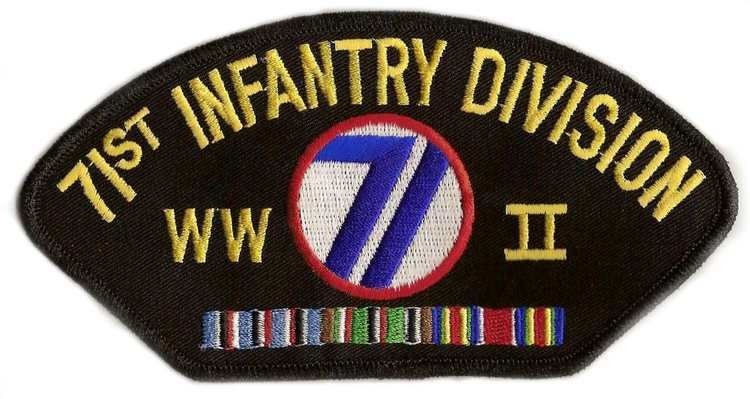 71st Infantry Division (United States) 71st Infantry Division WWII Patch World War 2 Hat Patches