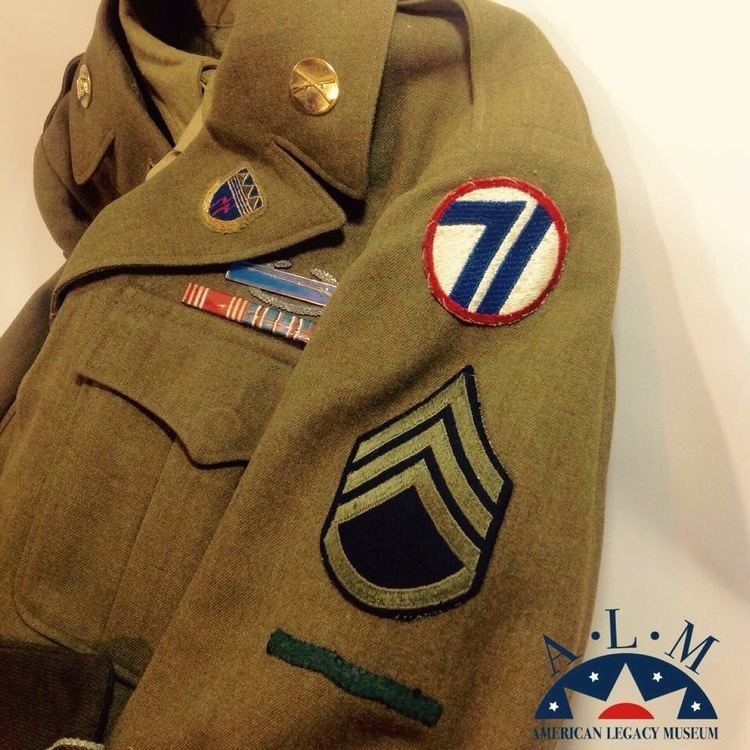 71st Infantry Division (United States) Staff Sergeant Harold R George 71st Infantry Division Europe