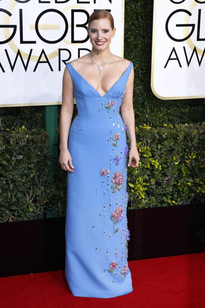 74th Golden Globe Awards Low Cut Dresses Matchup At The 74th Golden Globe Awards MoeJackson