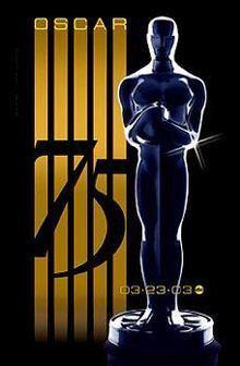 75th Academy Awards httpsuploadwikimediaorgwikipediaenthumb9