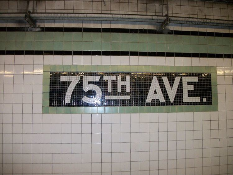 75th Avenue (IND Queens Boulevard Line)