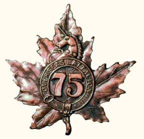 75th Battalion (Mississauga), CEF