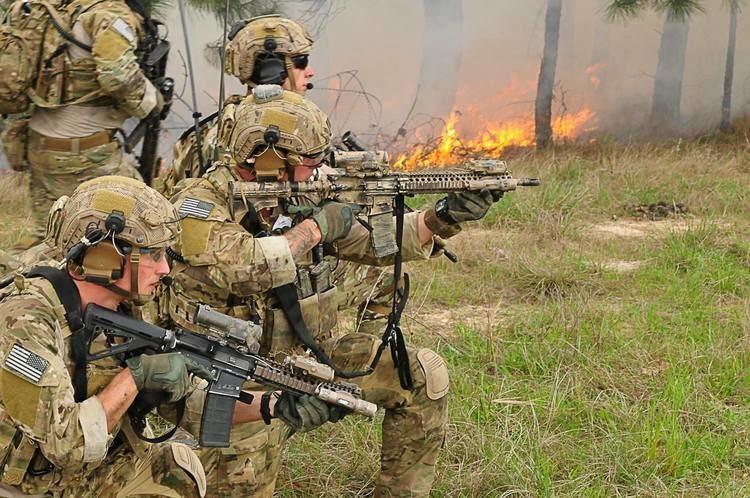 75th Ranger Regiment (United States) First female tries out for 75th Ranger Regiment flunks out
