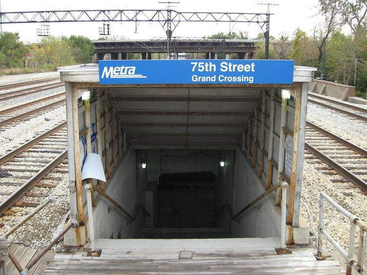 75th Street (Grand Crossing) station