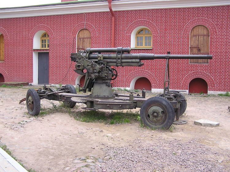 76 mm air defense gun M1938