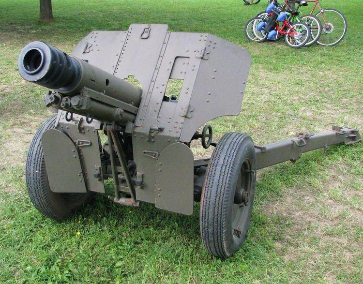 76 mm mountain gun M48