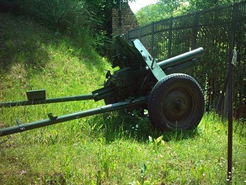 76 mm regimental gun M1943