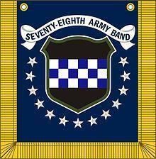 78th Army Band httpsuploadwikimediaorgwikipediacommonsthu