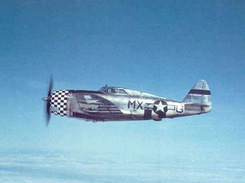 78th Fighter Group US Army Air Force P47 of the 78th Fighter Group