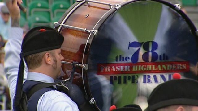 78th Fraser Highlanders Pipe Band BBC Music World Pipe Band Championships 2010 78th Fraser