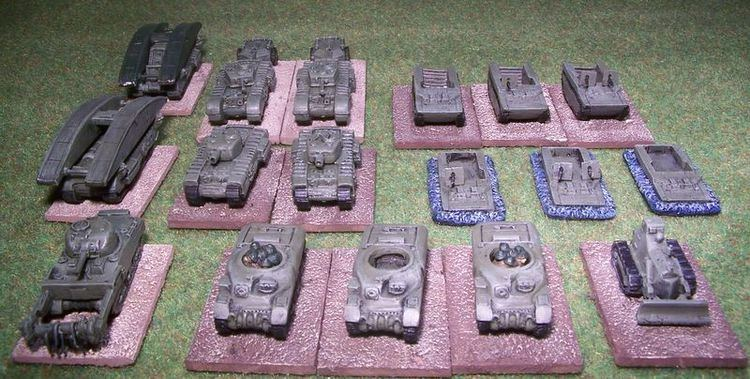 79th Armoured Division (United Kingdom) British 79th Armoured Division Units
