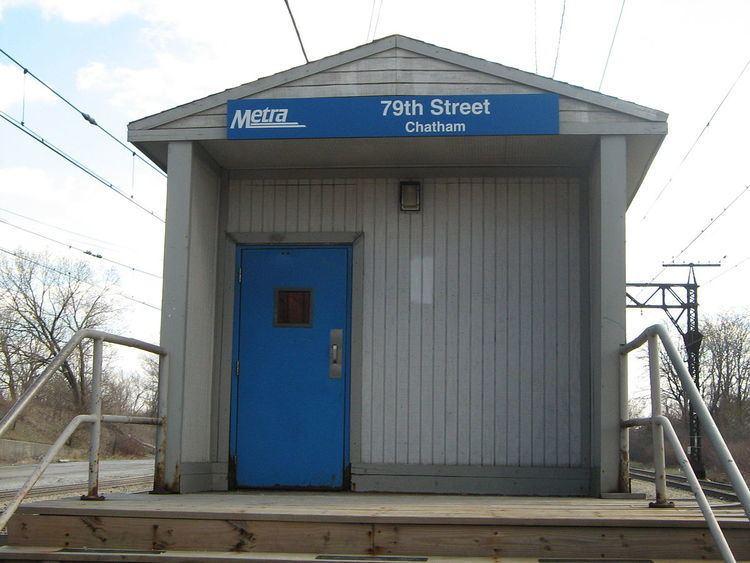 79th Street (Chatham) station