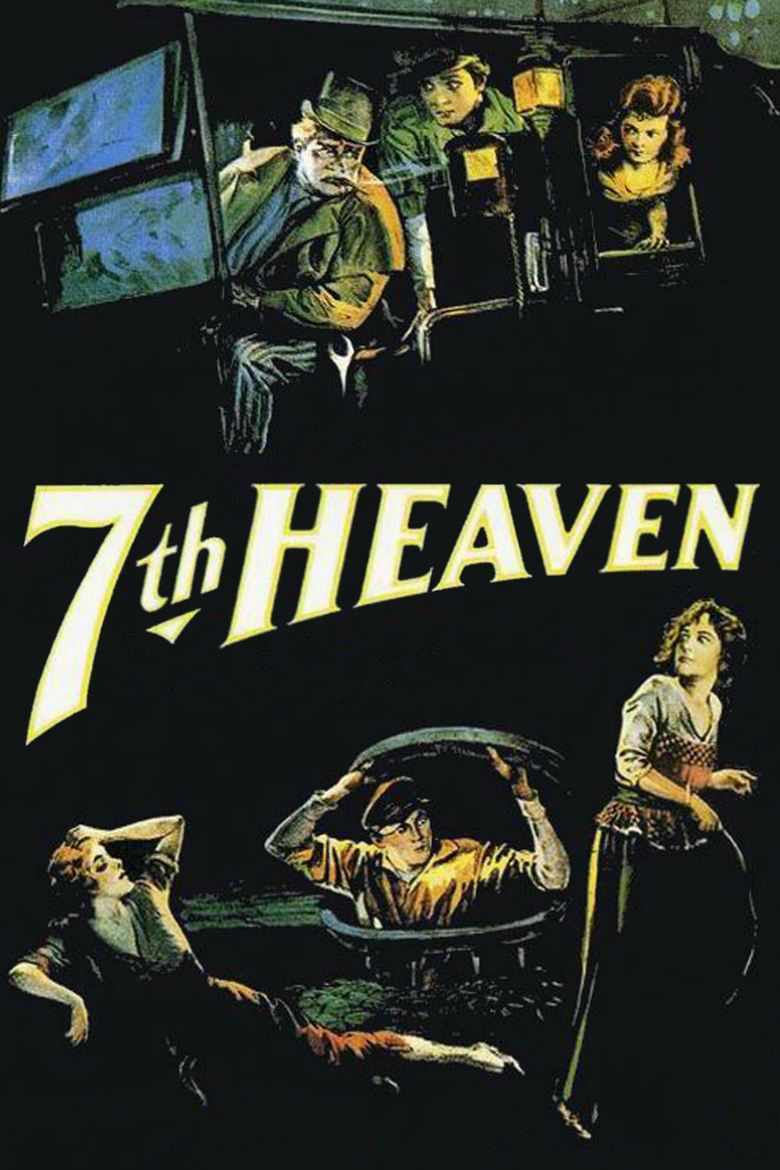 7th Heaven (1927 film) movie poster