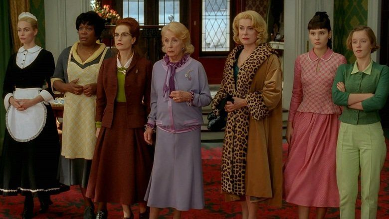 8 Women movie scenes