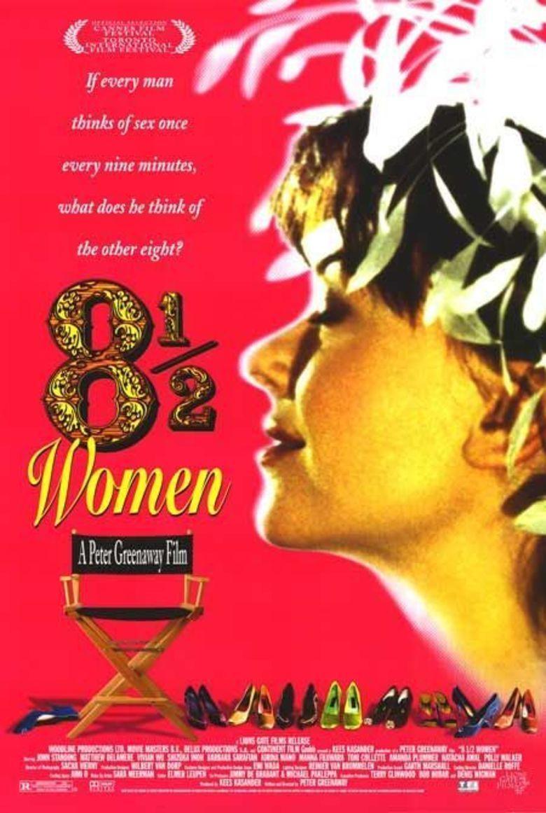 8½ Women movie poster