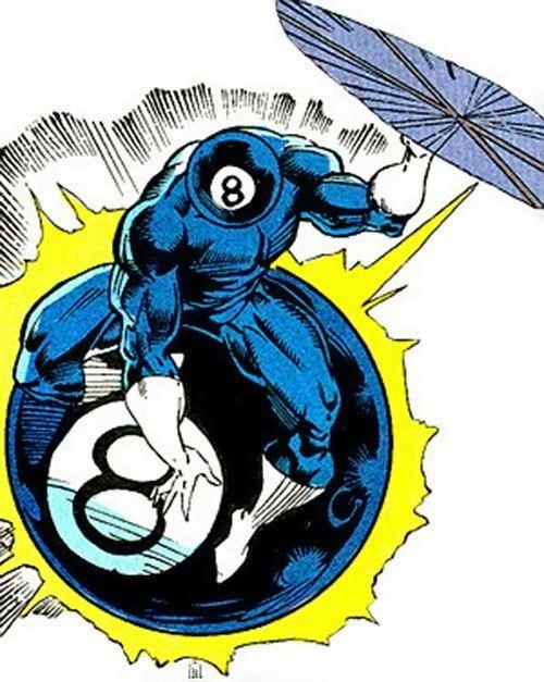 8-Ball (comics) 8ball Eightball Marvel Comics Sleepwalker enemy Character