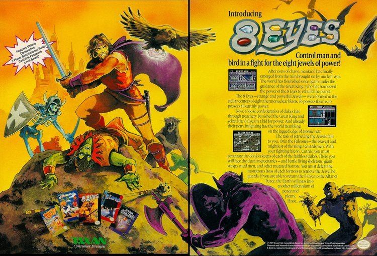 8 Eyes Video Game Ad of the Day 8 Eyes