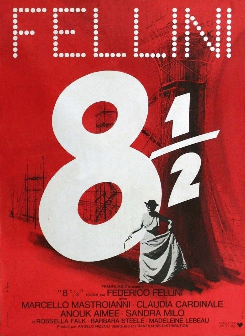 8½ movie poster