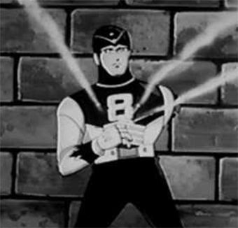 8 Man The Superhero Who Powers Up By Smoking and Other Bizarre Comic