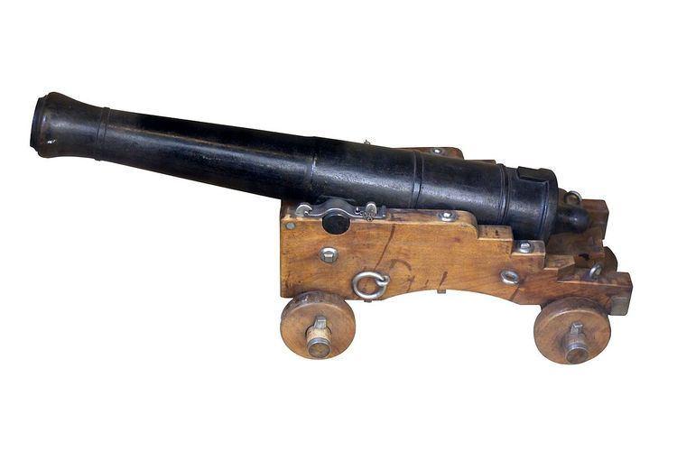 8-pounder short gun