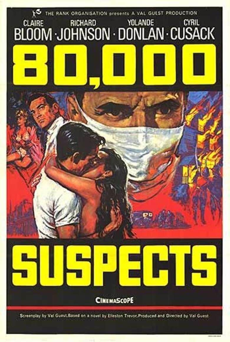 80,000 Suspects movie poster
