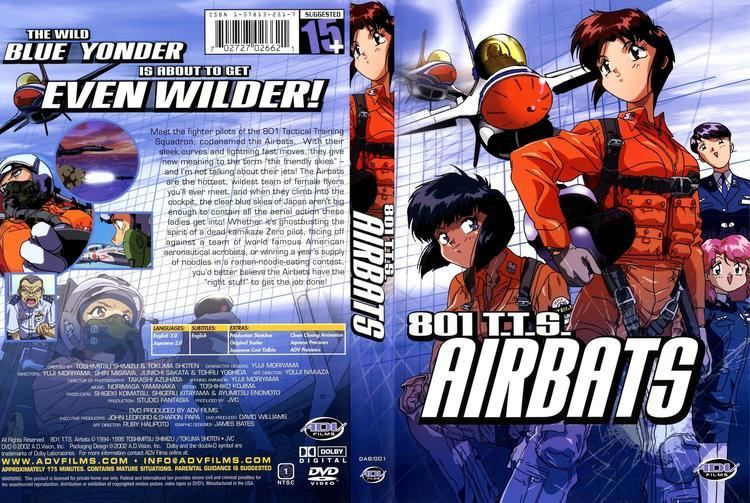 801 T.T.S. Airbats Anime Covers covers of 801 TTS airbats complete english
