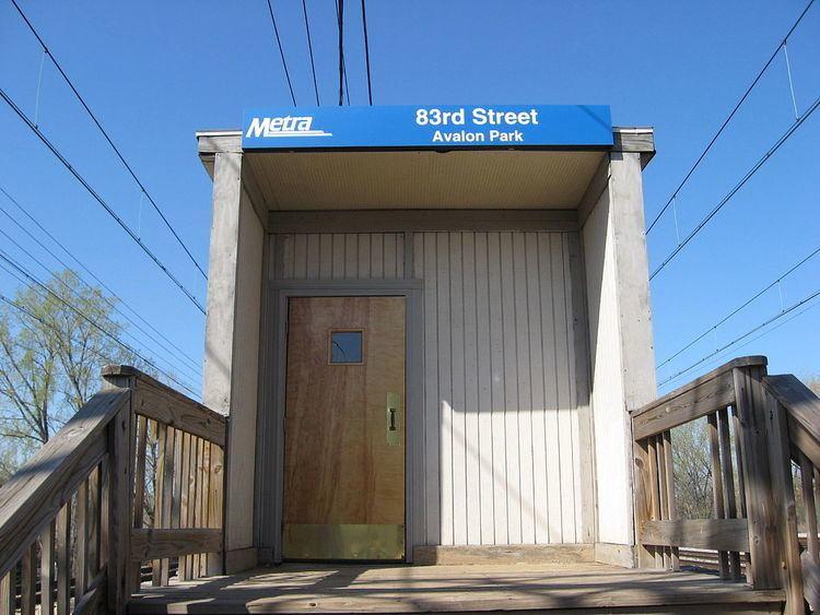 83rd Street (Avalon Park) station