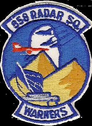 858th Radar Squadron